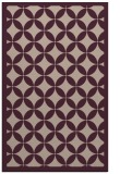 rug #120005 |  pink circles rug
