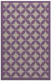 rug #120029 |  beige circles rug