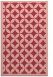 rug #120065 |  pink circles rug