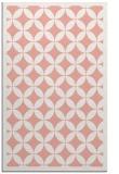 rug #120069 |  pink circles rug