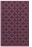 rug #120073 |  purple traditional rug