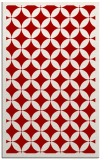 rug #120089 |  red borders rug
