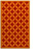 rug #120093 |  red circles rug