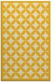 rug #120137 |  yellow traditional rug