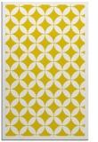 rug #120149 |  yellow geometry rug