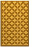 rug #120153 |  yellow geometry rug