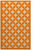 rug #120165 |  orange borders rug