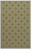 rug #120173    light-green circles rug