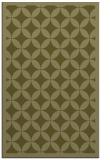 rug #120181    light-green circles rug
