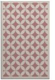 rug #120189 |  pink circles rug