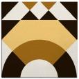 rug #1202039 | square brown circles rug