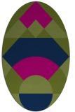 rug #1202150 | oval popular rug
