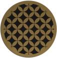 rug #120221 | round brown borders rug