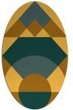 rug #1202436 | oval circles rug