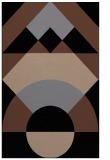 rug #1202487 |  black abstract rug