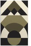 rug #1202495 |  black circles rug