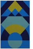 rug #1202503 |  blue circles rug