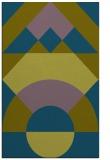 rug #1202547    blue-green abstract rug