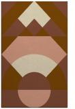 rug #1202623 |  brown geometry rug