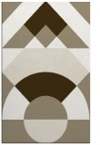 rug #1202635 |  mid-brown circles rug