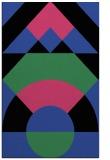 rug #1202675 |  black abstract rug