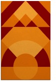 rug #1202683 |  red-orange abstract rug
