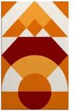 rug #1202687 |  orange circles rug