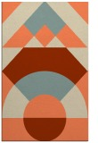 rug #1202691 |  beige abstract rug