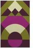 rug #1202719 |  purple graphic rug