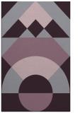 rug #1202727 |  purple geometry rug