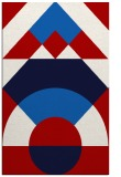 rug #1202731 |  red graphic rug
