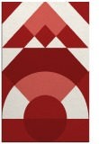 rug #1202739 |  red abstract rug