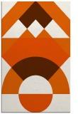 rug #1202759 |  red-orange circles rug