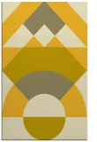rug #1202791 |  yellow circles rug