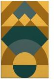 rug #1202803 |  yellow geometry rug