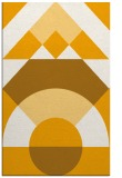 rug #1202827 |  light-orange circles rug