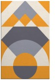 rug #1202835 |  light-orange circles rug