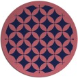 rug #120293 | round pink traditional rug
