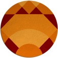 rug #1203051 | round abstract rug
