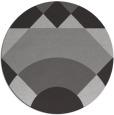 rug #1203063 | round red-orange circles rug