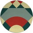 rug #1203175 | round yellow popular rug
