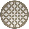 rug #120342 | round traditional rug