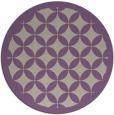 rug #120381 | round rug