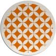 rug #120393 | round orange rug