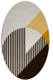 rug #1204247   oval brown graphic rug