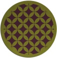 rug #120429 | round green circles rug