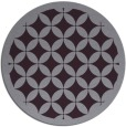 rug #120437 | round purple circles rug