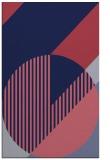 rug #1204403 |  blue-violet abstract rug