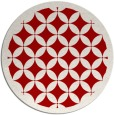 rug #120441 | round red rug