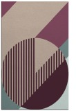 rug #1204479 |  pink graphic rug